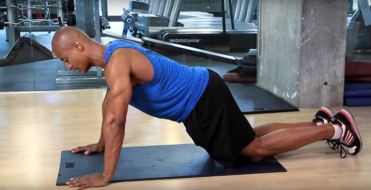 Shoulder Pain When doing Push Ups
